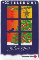 Denmark - KTAS - Danish Red Cross, Christmas 1995 - TDKP181 - 11.1995, 20kr, 1.000ex, Used - Danemark