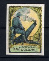 WW1- DELANDRE -109e Rgt ARTILLERIE LOURDE ND  - Vignette NEUVE ( Sans Traces De Charnières ) - NMNH - Commemorative Labels