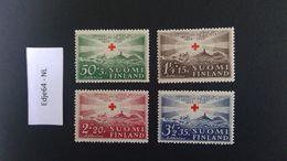 1939 Finland Rode Kruis 75 Jaar - Finland