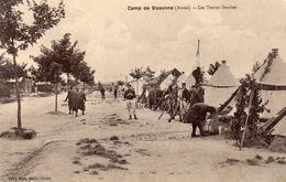 DC1202 - Camp De Sissonne (Aisne) Les Tentes Fleuries - Frankreich