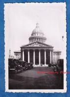 Photo Ancienne Snapshot - PARIS - Le Panthéon - Automobile Stationnée à Identifier - Auto - Coches