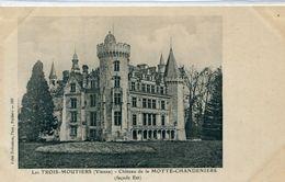 86 - Les Trois Moutiers : Le Château De La Motte Chandeniers - Other Municipalities
