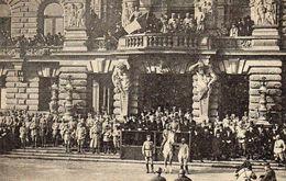DC1946 - Strasbourg 1918 Krieg Le Général Gourod Passant En Revue Les Troupes - Guerra 1914-18