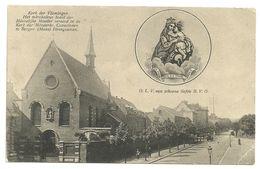 BERGEN / MONS   - Kerk Der Vlamingen.....  -  Zie Scan's - Mons