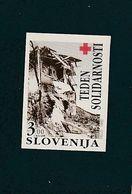 Slovenia Red Cross Earthquake 1992 IMPERF  MNH ** - Slovénie