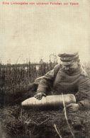 DC514 - Eine Liebesgabe Von Unseren Feinden In Ypern Soldat Mit Bombe - Weltkrieg 1914-18