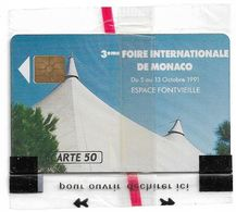 Monaco - MF18 - Ficomias Monte-Carlo - Gem1A Symmetr. Black, 09.1991, 50Units, 10.000ex, NSB - Monaco