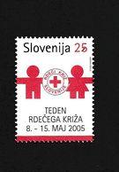 Slovenia Red Cross Week  2005  MNH ** - Slovénie