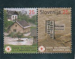 Slovenia Red Cross Flooding Floods 2005  MNH ** - Slovénie