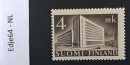 1939 Finland Frankeerzegel Hoofdkantoor Finse Post Helsinki - Finland