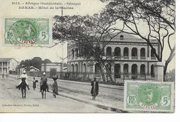 SéNéGAL  DAKAR  Afrique Occidentale  Hôtel De La Marine. - Senegal