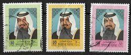 Qatar 1992 30R, 20R, 15R Scott Value $36.75 Better Used - Qatar