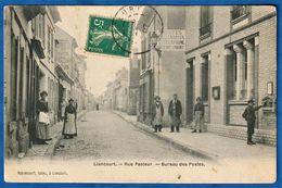 CPA 60 LIANCOURT - Rue Pasteur - Bureau Des Postes - Liancourt