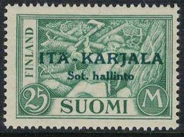 1941 Finland, Itä-Karjala (East Carelia) 25 Mk **. - Ortsausgaben