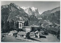 "Christl. Hospitz Und Ferienheim ""Viktoria"" - Reuti Hasliberg Mit K-Stempel Reuti - BE Berne"