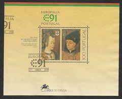 "Portugal 1991 Mi.Nr. Sheet 79 (1864) ,Europäisches Kulturfestival ""Europalia `91 Portugal - Gestempelt / Fine Used / (o) - 1910-... República"