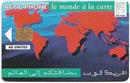 Morocco - Afric Phone - Le Monde à La Carte, Siemens S30, 40Units, Used - Maroc