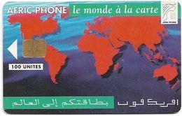 Morocco - Afric Phone - Le Monde à La Carte, Siemens S30, 100Units, Used - Maroc