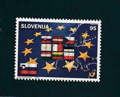 Slovenia United Europe EU European Union Flags 2004  MNH ** - Slovénie
