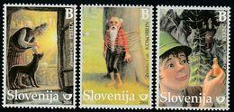 Slovenia Dog Fairy Tale Illustration From Book Set 2004  MNH ** - Slovénie