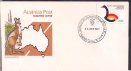 Australia - 1979 - Cachets Spéciaux - Australian Jaycees 32nd National Convention - Cygnus - Organizations