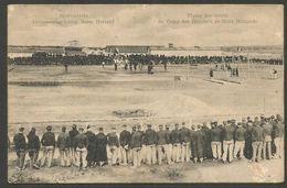 Interneeringskamp Zeist, Sportterrein, Militair Gelopen Kaart 1916 (dus Zonder Postzegel), Stempel Amersfoort - Zeist