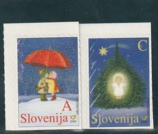 Slovenia Christams Illustration Children Set 2004  MNH ** - Slovénie