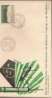 Portugal & FDC International Congresses On Tropical Medicine And Malaria, Lisbon 1958 (6868) - FDC