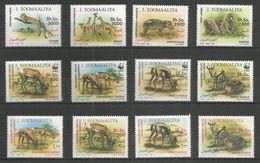 SOMALIA - MNH - Animals - Wild Animals - 1992 - WWF - Sellos