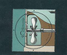 Slovenia Round Shape Stamp Ship Propeller Invention 2002  MNH ** - Slovénie