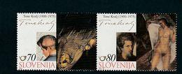 Slovenia Tone Kralj Painting Nude 2000  MNH ** - Slovénie