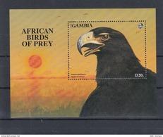 Gambia Michel Cat.No. Mnh/** Sheet 188 Bird Of Prey - Gambie (1965-...)