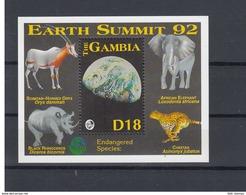Gambia Michel Cat.No. Mnh/** Sheet 178 - Gambie (1965-...)