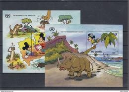 Gambia Michel Cat.No. Mnh/** Sheet 122/125 Disney - Gambie (1965-...)