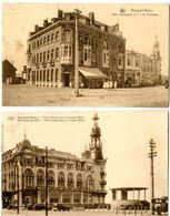 2 Kaarten Van Nieuwpoort-Bad (Nieuport-Bains) - Nieuwpoort