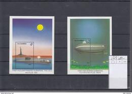 Gambia Michel Cat.No. Mnh/** Sheet 52/53 Submarines - Gambie (1965-...)