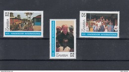 Gambia Michel Cat.No. Mnh/** 2184/2186 - Gambie (1965-...)