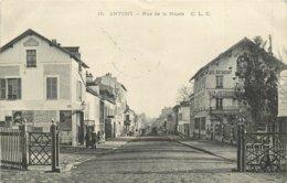 ANTONY RUE DE LA MAIRIE LE PASSAGE A NIVEAU - Antony