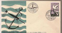 Portugal & FDC X NATO Anniversary, Lisbon 1959 (849) - NATO