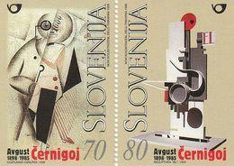 Slovenia Avgust Cernigoj Painting Sculpture 1999  MNH ** - Slovénie