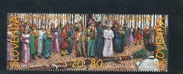 Slovenia Masks Costume Folklore Ethnology 1999  MNH ** - Slovénie
