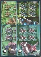 AITUTAKI - MNH - Animals - Insects - Butterflies - WWF - Schmetterlinge