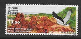 Sri Lanka 2006 National Parks Wilpattu White Bellied Sea Eagle Rs10.00 Used Stamp SG1763 - Sri Lanka (Ceylan) (1948-...)