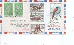 Sénégal ( Lettre Par Avion De 1982 De Dakar Vers La Belgique à Voir) - Sénégal (1960-...)