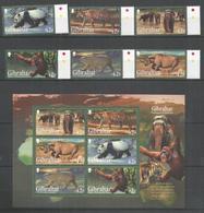 GIBRALTAR - MNH - Animals - Wild Animals - Sellos
