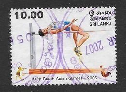Sri Lanka 2006 10th South Asian Games Rs10.00 Used Stamp SG1831 - Sri Lanka (Ceylan) (1948-...)
