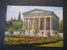 Österreich- AK Wien Burggarten Mit Rathausl, Verlag - Wien Mitte