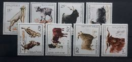 """Albanien 1968, Mi 1256-63 """"Ziegen"""" MNH Postfrisch - Albania"""