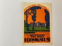 Allemagne Notgeld Ludwigslust 50 Pfennig - [ 3] 1918-1933 : République De Weimar