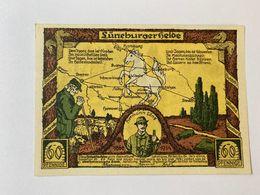 Allemagne Notgeld Luneburg 60 Pfennig - [ 3] 1918-1933 : République De Weimar